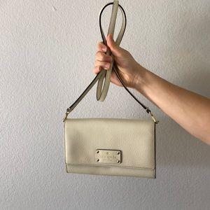 Kate Spade cream crossbody bag